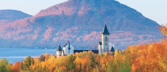 Cantons de l'Est au Québec