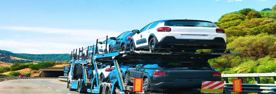 voitures immobilisées